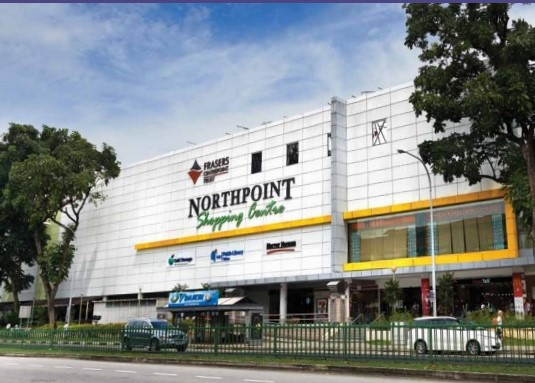 Northpoint Shopping Centre (image credit: Frasers Centrepoint Trust)