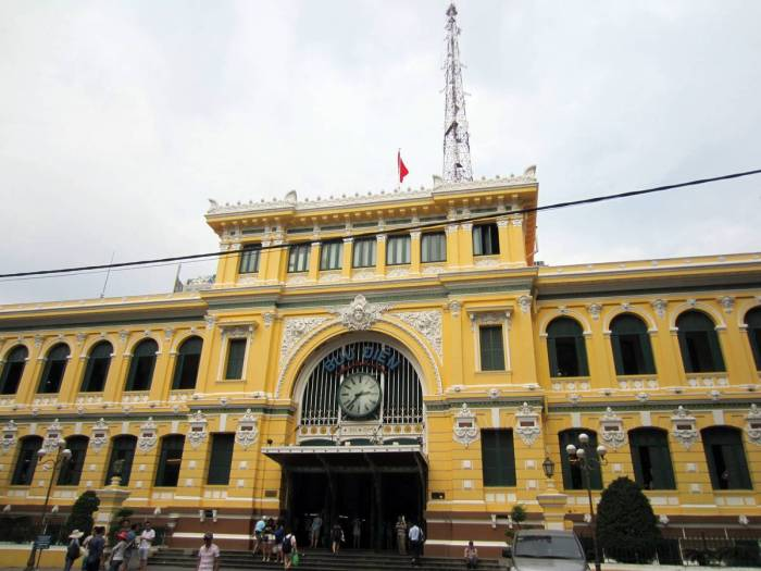 The iconic Saigon Central Post Office that doesn't look like a post office ;)